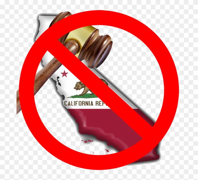 Probate Hearing Clip Art - California State Flag Refrigerator Magnet #95792