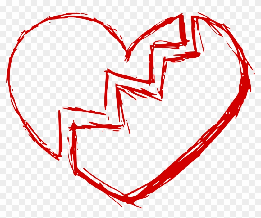 Free Download - Broken Heart Png #95808