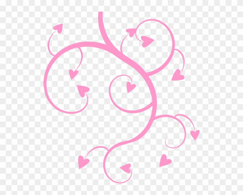 Flower Hearts - Flower And Heart Png #95883