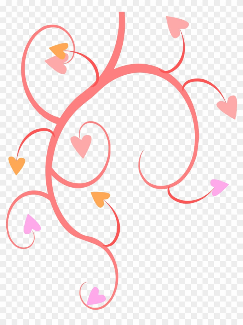 Big Image - Hearts And Flowers Png #95919