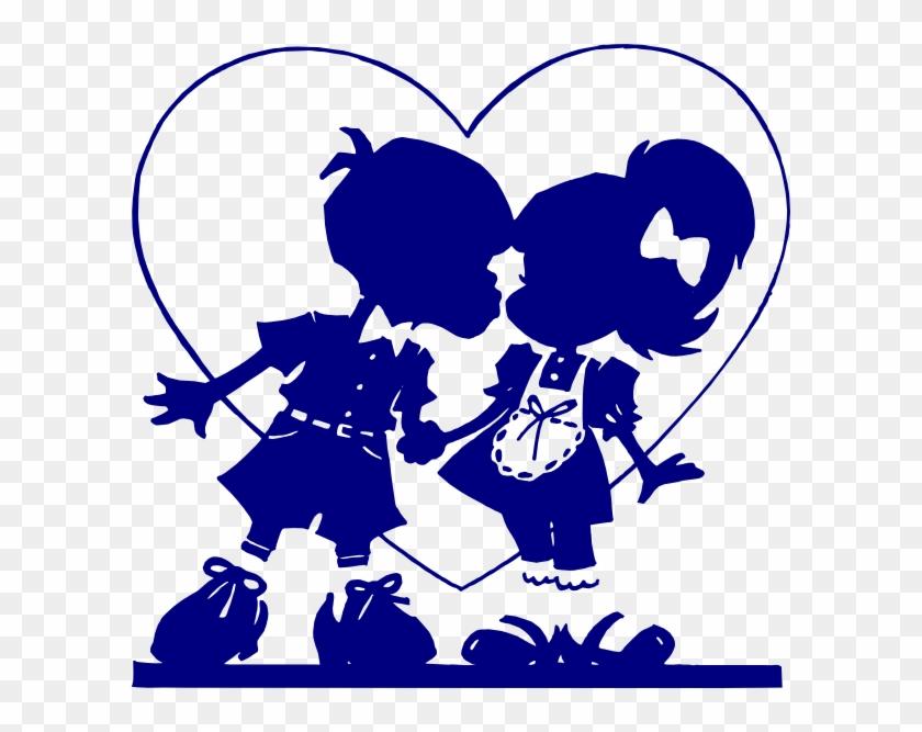 Valentine Clip Art Blue #95975