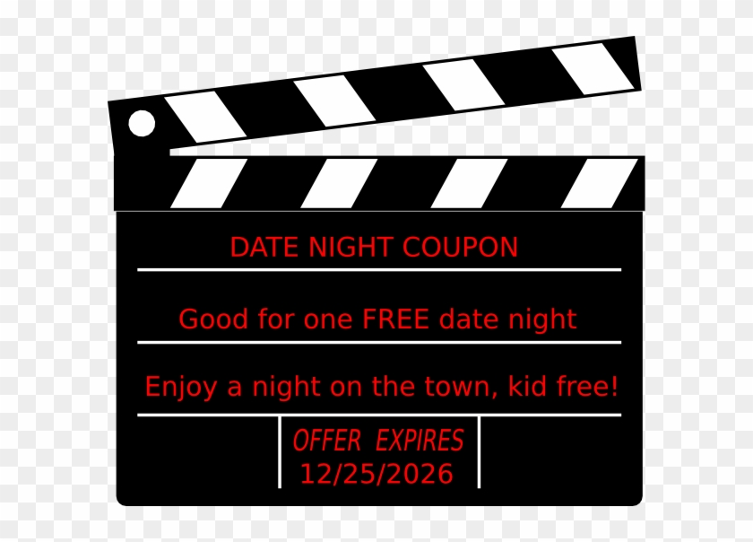 Coupon Clip Art At Clker - Black And White Productions #95981