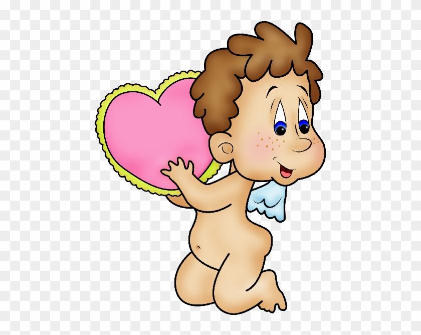 Cute Valentine Cupid Clip Art - Cute Valentine Cupid Clip Art #95989