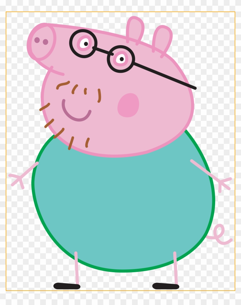 Daddy Pig Peppa Pig Transparent Png Image - Daddy Pig Peppa Pig #96014