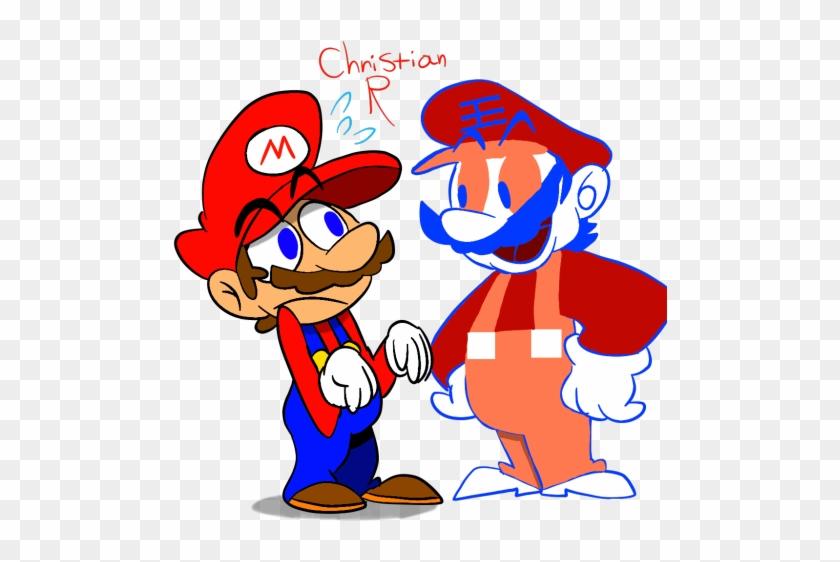 Sports Clipart No Background - Grand Dad Vs Mario #96043