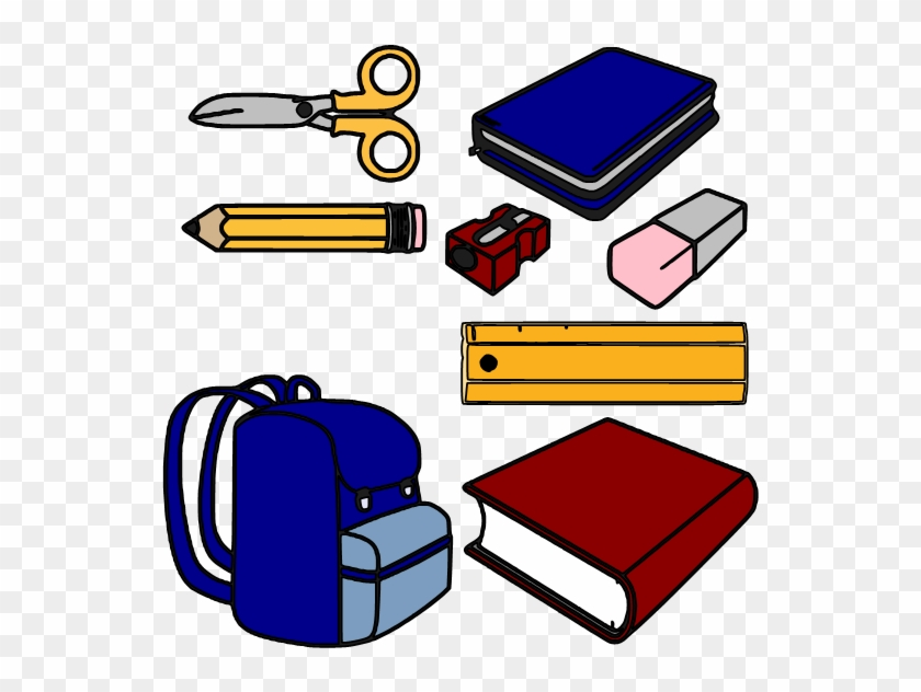 Clipart School Supplies #96098