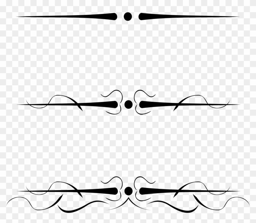 Big Image - Decorative Lines Clipart #96108
