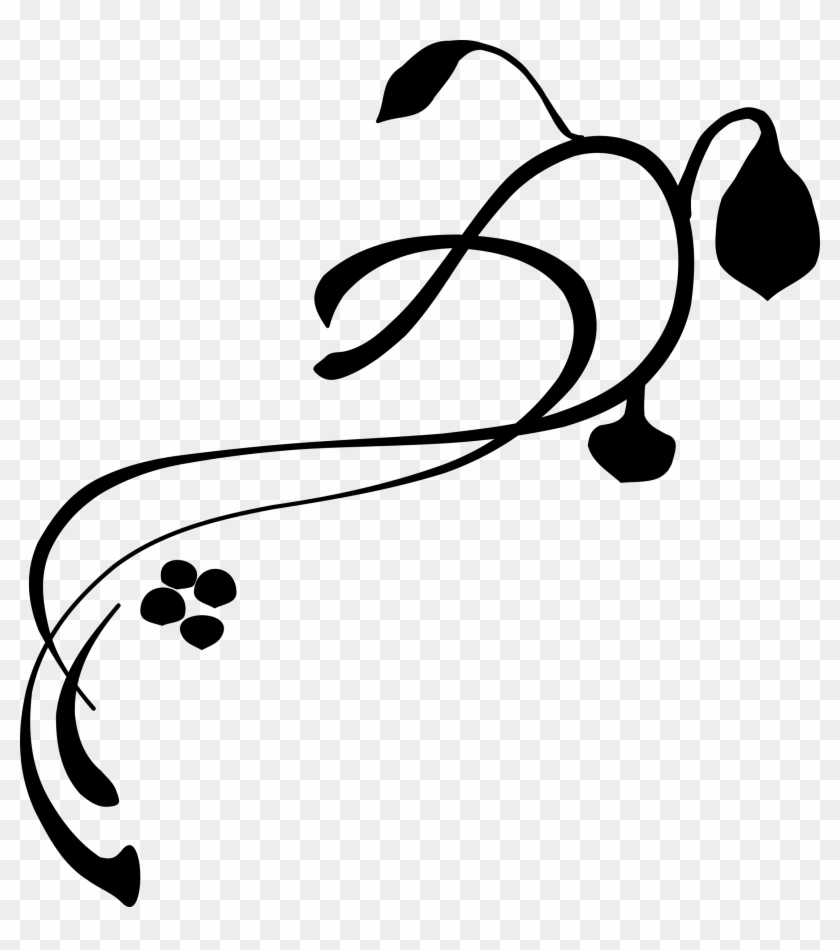 Decorative Clip Art - Lines, Vines And Trying Times #96141