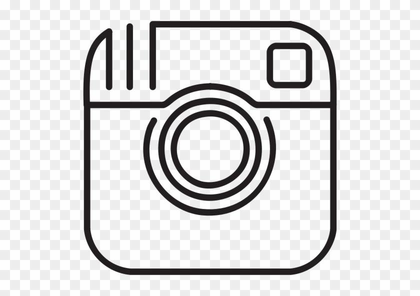 Flourish Clipart Free - Instagram Icon White Outline #96155