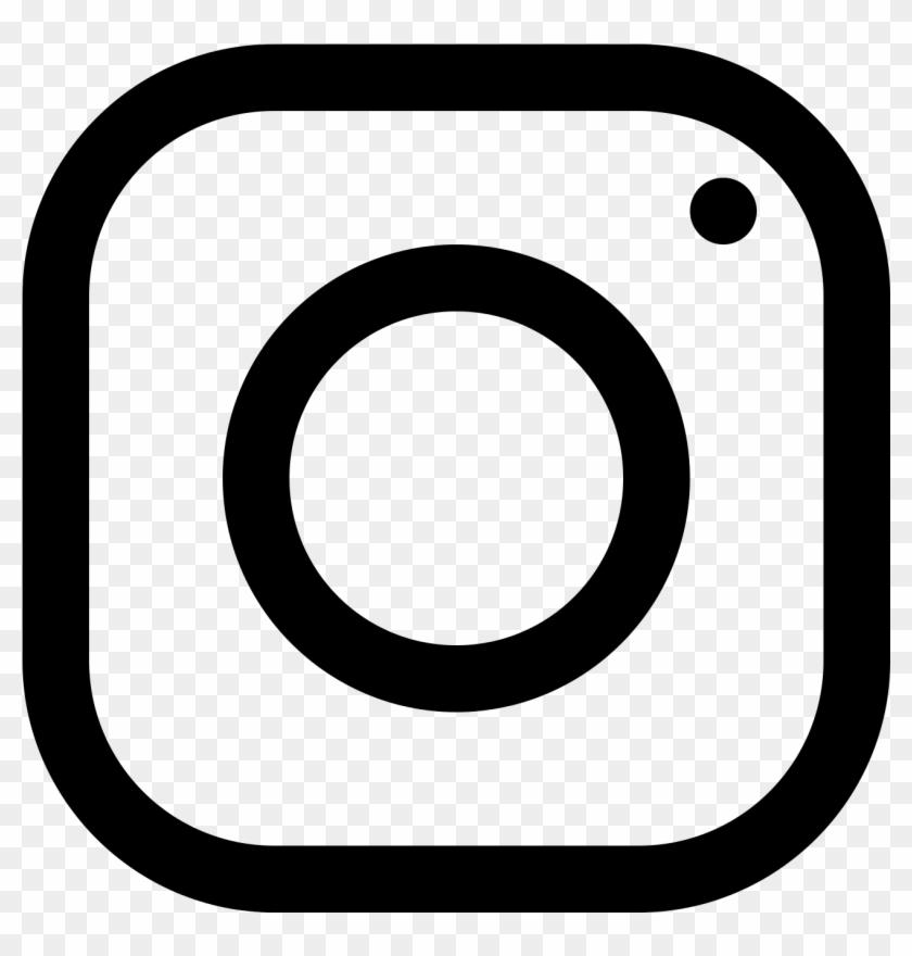 White Instagram Logo Png #96185