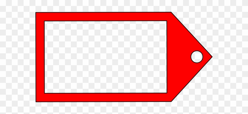 Red Tag Clip Art - Red Price Tag Clipart #96186