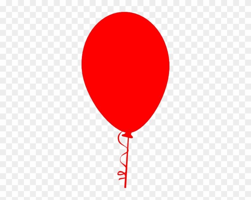 Red Balloon Clip Art At Clker - Balloon Clip Art #96236