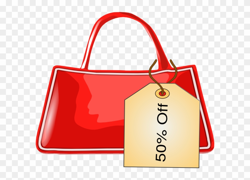Bag With Tag Clip Art - Tag On A Bag Clipart #96276