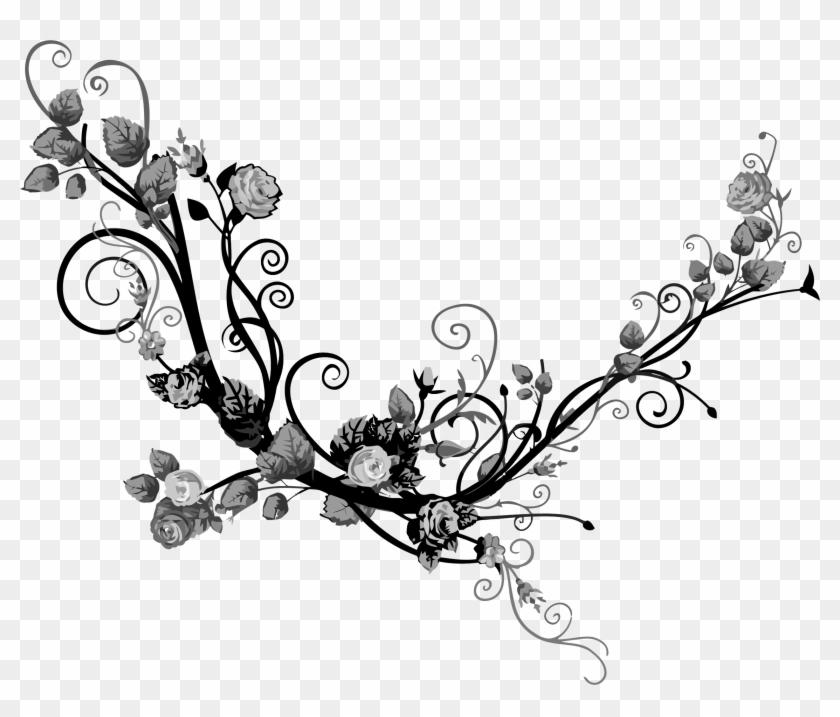 Floral Flourish 12 - Portable Network Graphics #96280