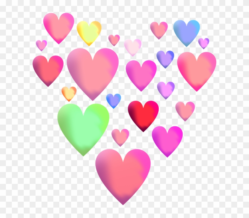 Herd Clipart Transparent Heart - Herz Pink Transparenter Hintergrund #96440