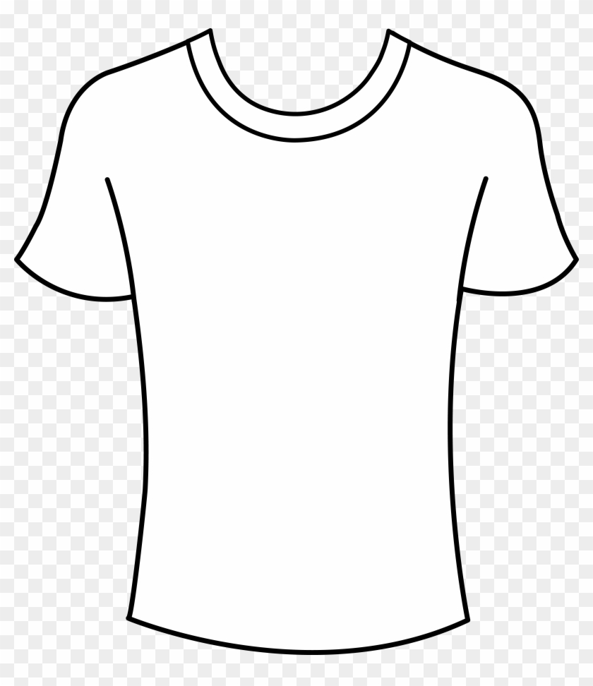 T Shirt Outline Template - T Shirt Outline Template #96514