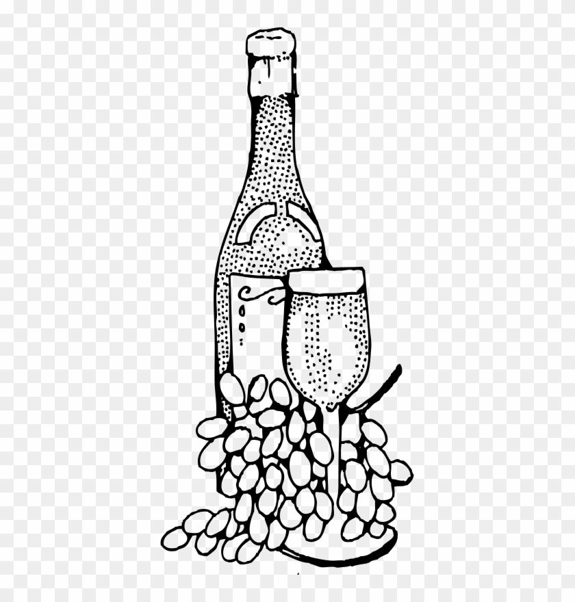 Wine Bottle Clip Art #96521