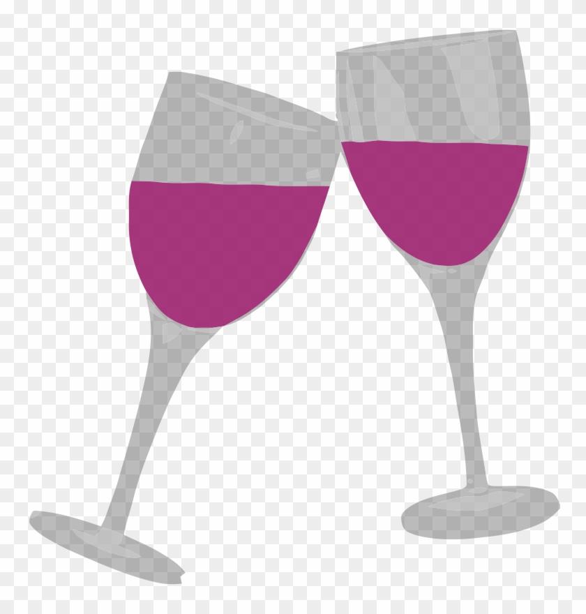 Wine Glasses Clipart Hostted - Clip Art Wine Glass #96524