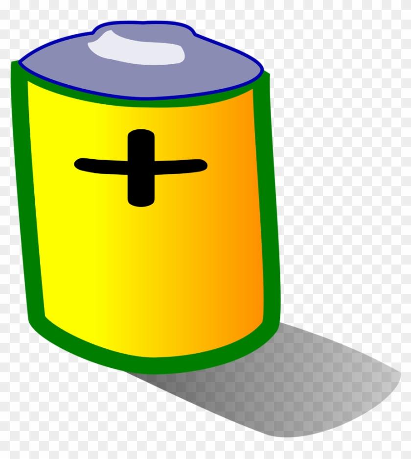 Battery Clipart File Tag List Clip Arts Svg - Battery Clip Art Transparent #96530