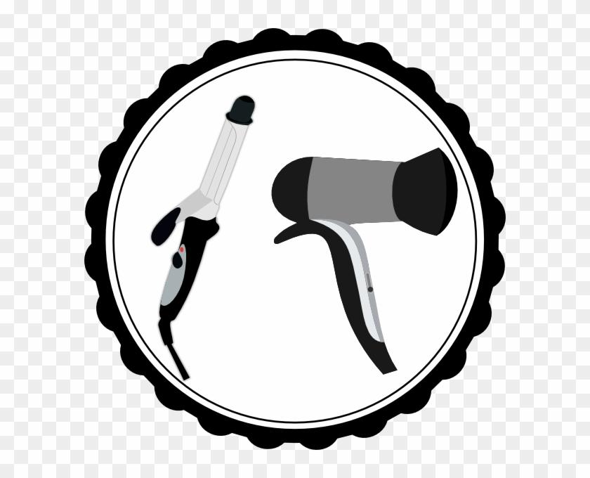 Templates Clipart Hair - Hair Dryer Clip Art #96529
