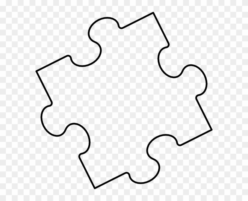 Printable Puzzle Piece - Puzzle Piece Coloring - Free Transparent ...