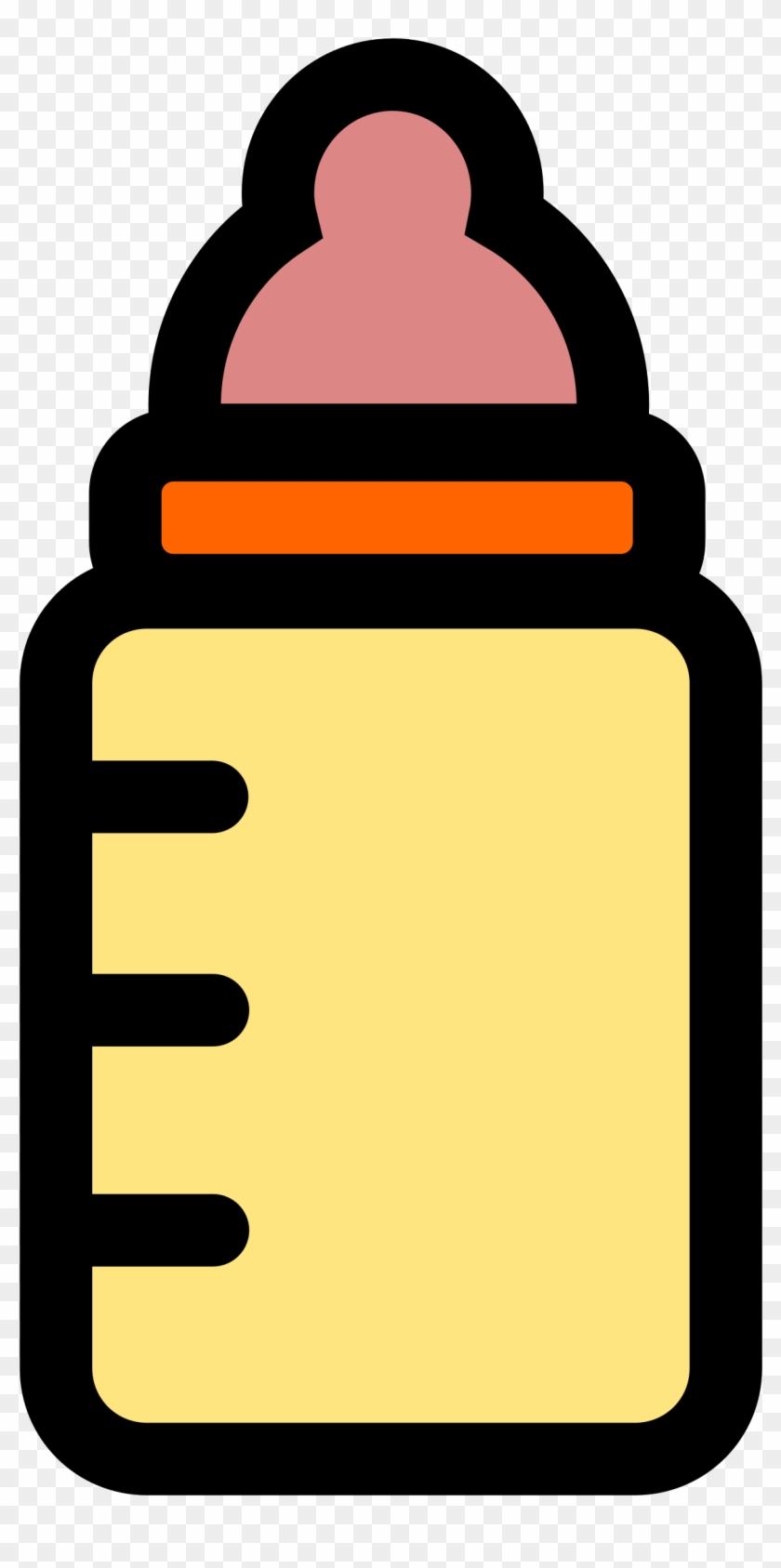 Onlinelabels Clip Art - Draw A Baby Bottle Easy #96553