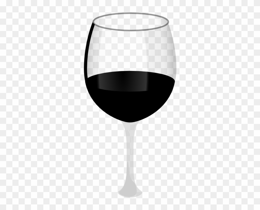 Wine Glass Wireframe Clip Art At Clker - Wine Glass Clip Art #96554