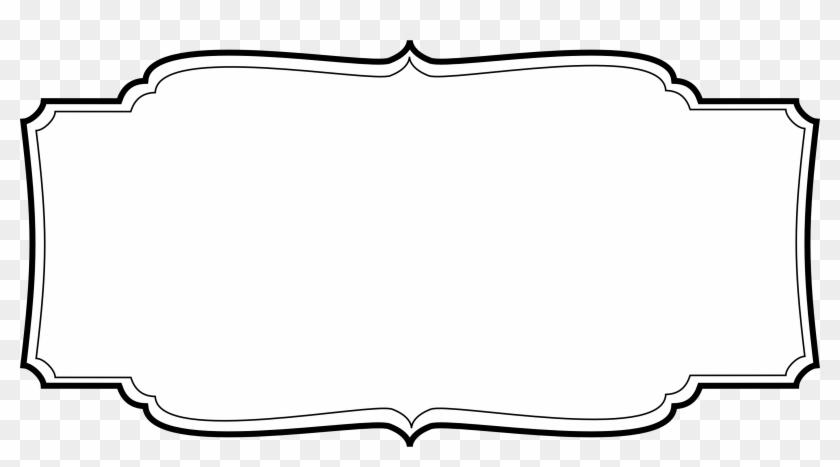 Labels Transparent - Label Frame Vector Png #96570
