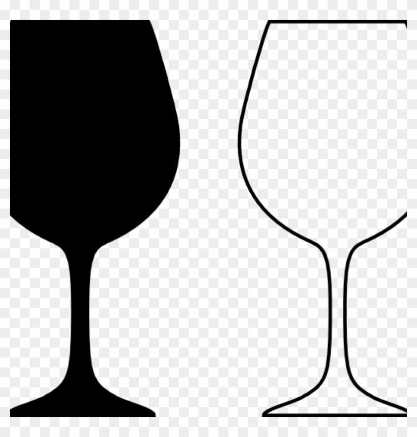 Wine Glass Clipart Wine Glass Silhouette Wine Glass - Glass #96568