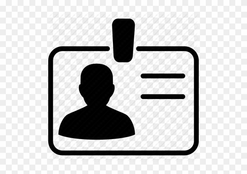 Identification Clipart - Icon For Personal Details #96575
