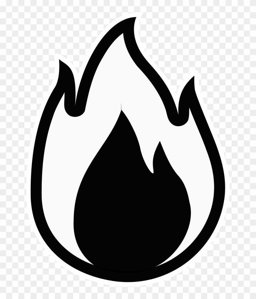 Monochrome Free Fire Hydrant - Fire Black And White #96620