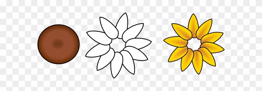 Six Petal Flower Template - Flower With Ten Petals #96624
