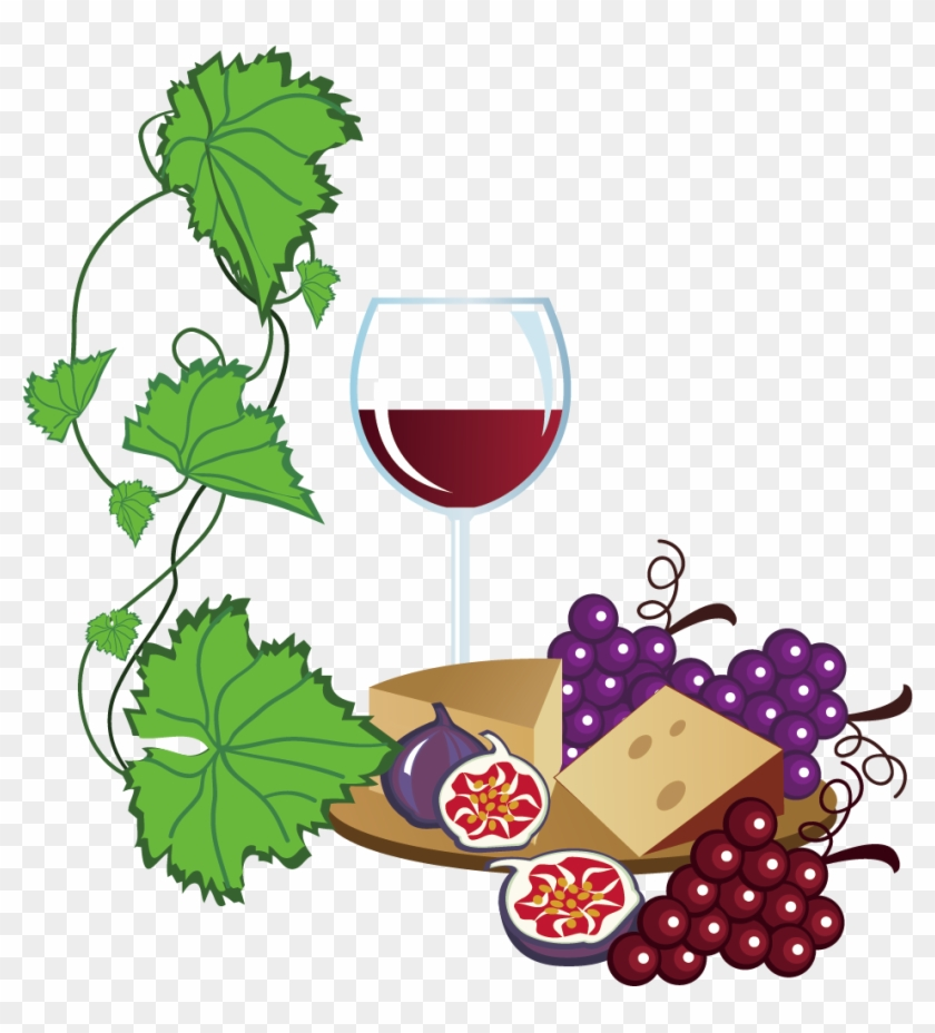 White Wine Common Grape Vine Free Content Clip Art - White Wine Common Grape Vine Free Content Clip Art #96678