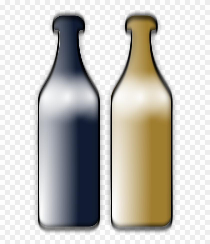 Drunken Wine Bottles Clipart, Vector Clip Art Online, - Wine #96694