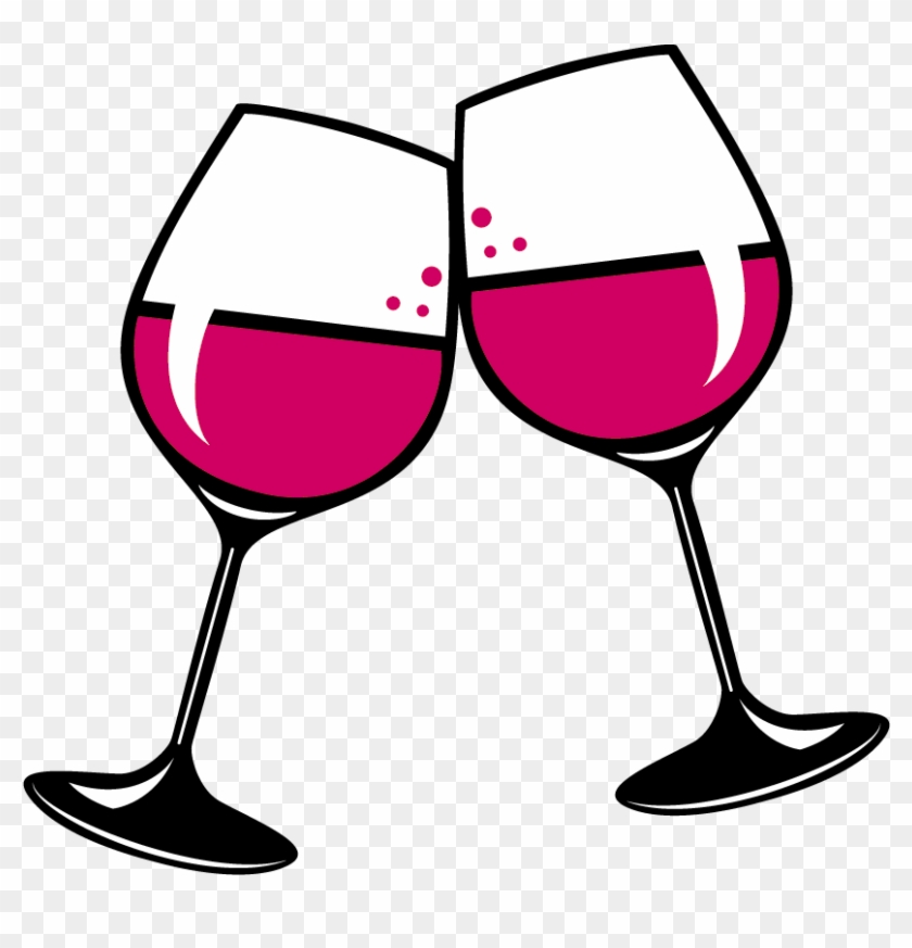 Wine Glass Red Wine White Wine Clip Art - Glass Of Wine Clip Art #96716
