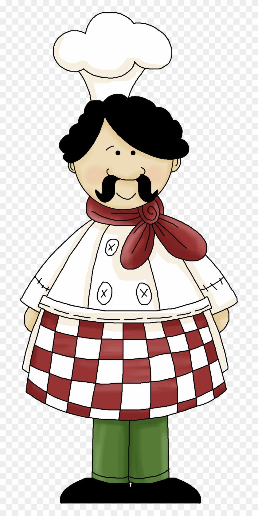 Wine Clipart Italian Bistro - Italian Chef Clipart Free #96721