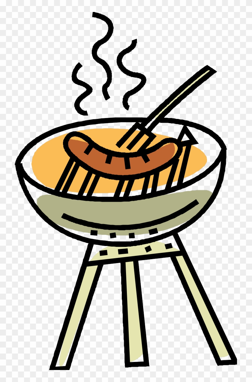Bbq Png Clipart - Sausage Sizzle Clipart #96727