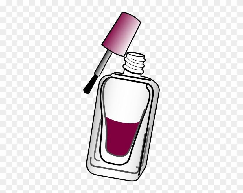 Nail Polish Wine Clip Art At Clker Com Vector Clip - Clip Art #96769