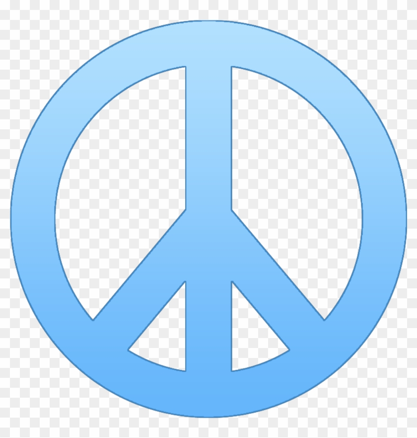 Peace Sign Template - Peace Symbol Transparent Background #96783