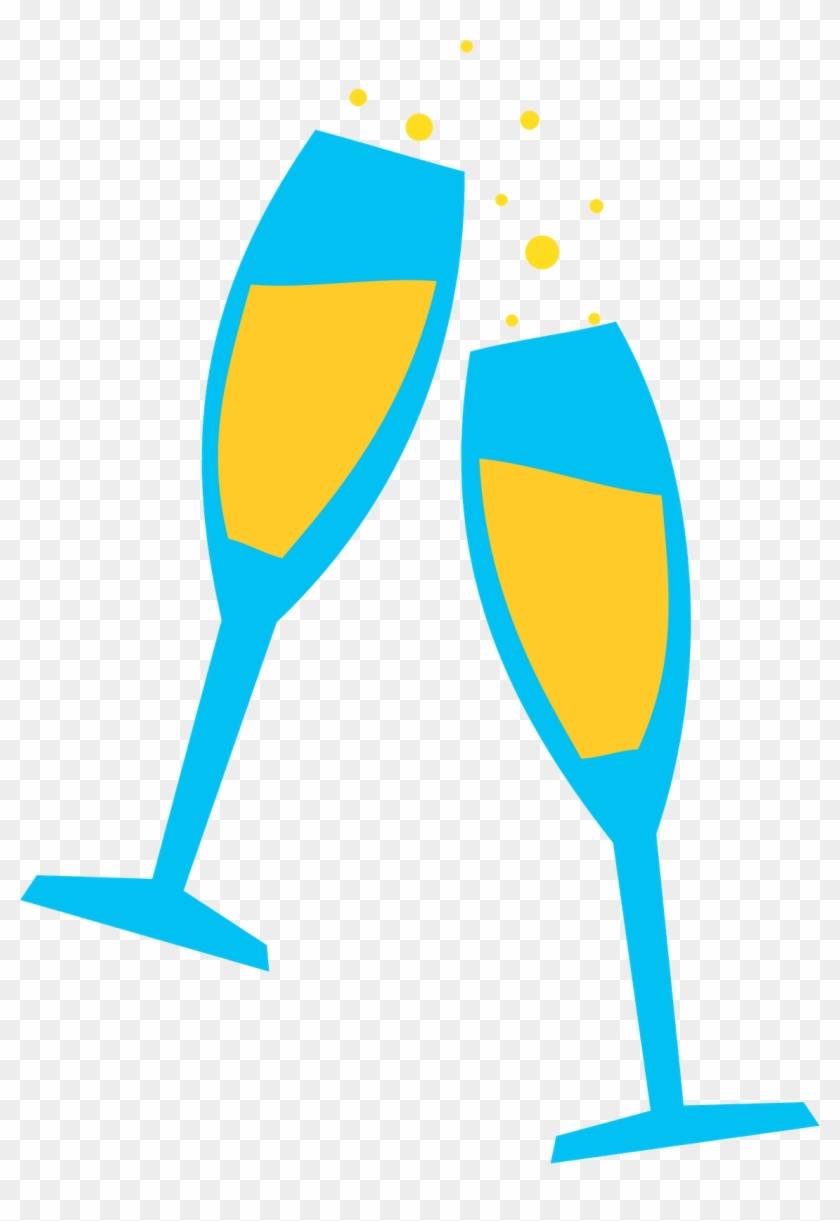 Wine Computer Icons Party Clip Art - Cartoon Wine Glasses Png #96790