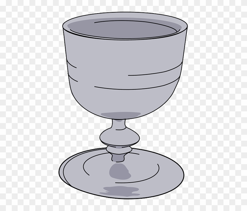 Beverage Glass, Wine, Cup, Drink, Wineglass, Beverage - Wine Goblet Clip Art #96811