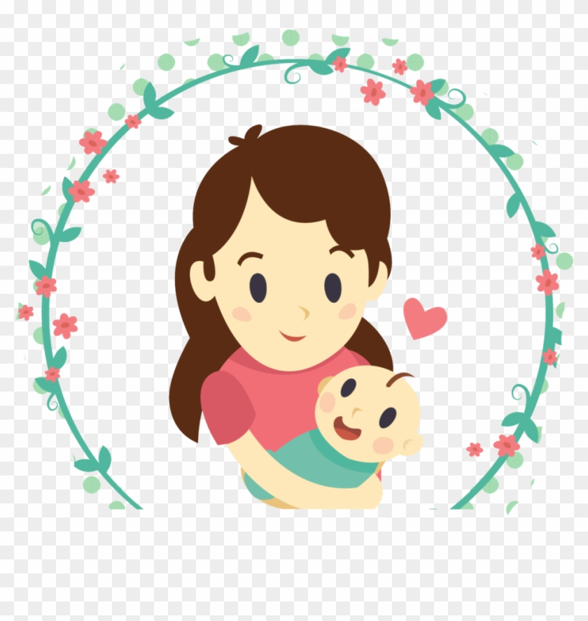 Download Mother And Daughter Free Png And Psd - Mother Png Cartoon #96842