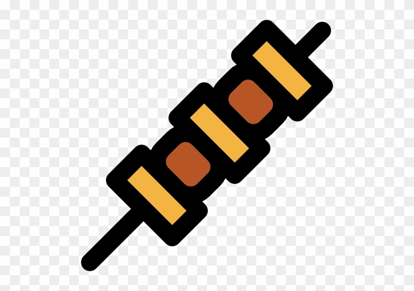 Bbq Png Clip Art - Brochette Icon Png #96853
