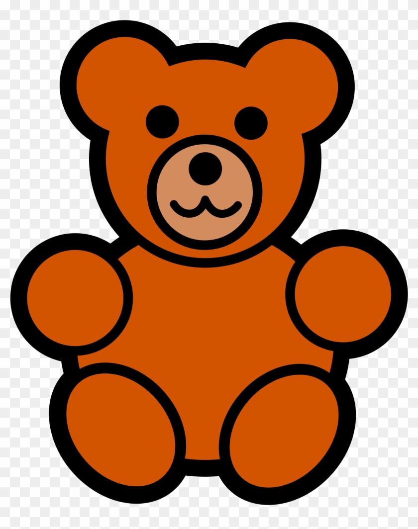Teddy Bear Icon - Cartoon Teddy Bear #96880