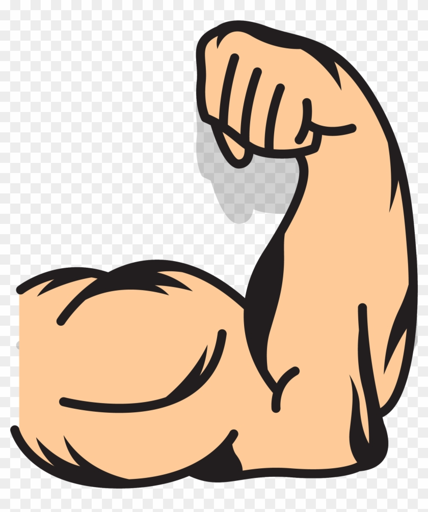 Muscle Arms Muscle Arms Clip Art - Cartoon Muscle Arm #96910