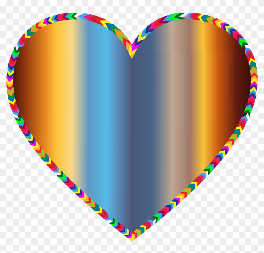 Big Image - Rainbow Hearts #96945