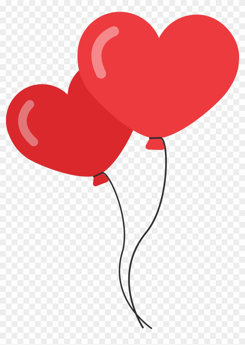 Heart Shaped Balloons Png Image - Romance Png #96970