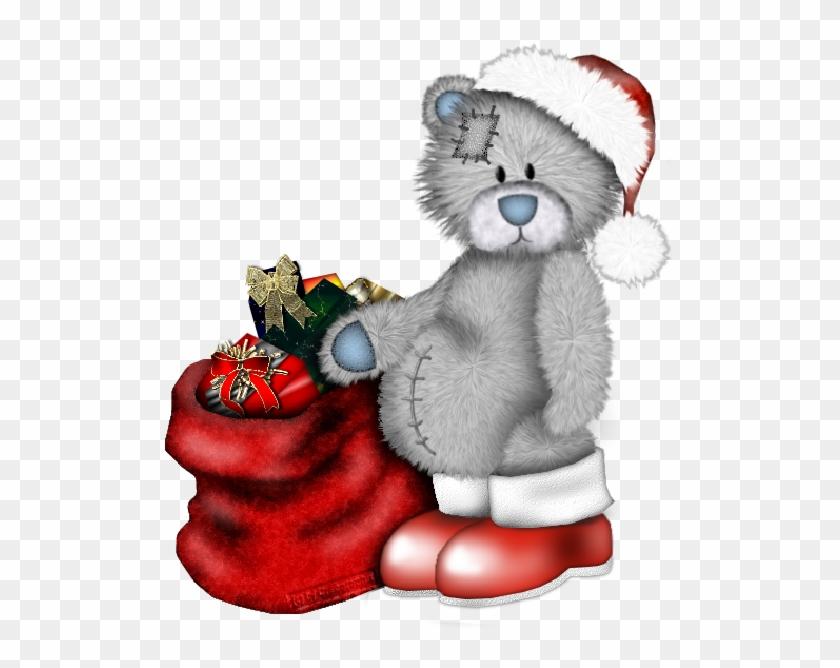 Xmas Teddy Bear Cartoon Clip Art Images - Bonne Annee Nounours #96976