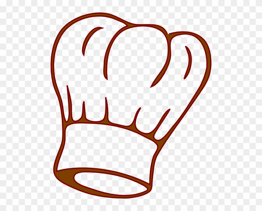 Catering Clip Art Black And White - Chef Hat Clip Art #96993