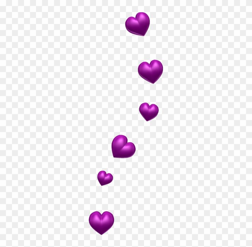 Purple Hearts Clip Art #97040